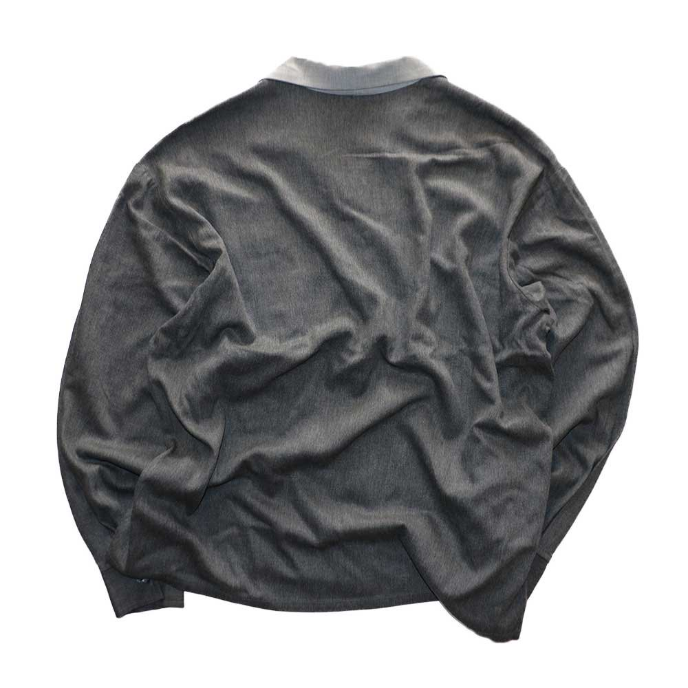 w-means(ダブルミーンズ) KWEEHBO CLOTHING CO. レーヨンオープンカラーシャツ( Made in U.S.A.)表記L  Charcoal-gray 詳細画像1