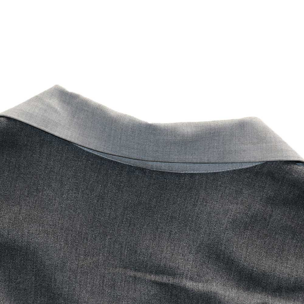 w-means(ダブルミーンズ) KWEEHBO CLOTHING CO. レーヨンオープンカラーシャツ( Made in U.S.A.)表記L  Charcoal-gray 詳細画像5