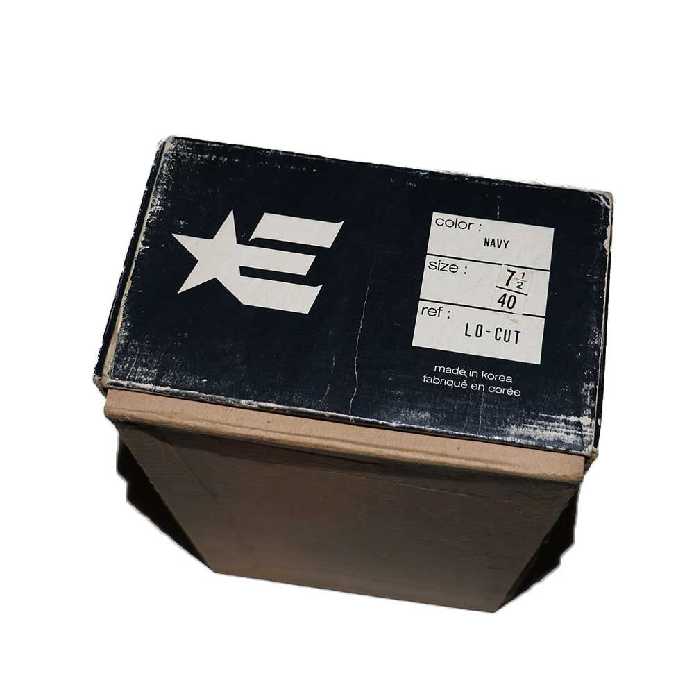 w-means(ダブルミーンズ) ETNIES SKATE SHOES (Dead Stock)表記7ハーフ NAVY   詳細画像1