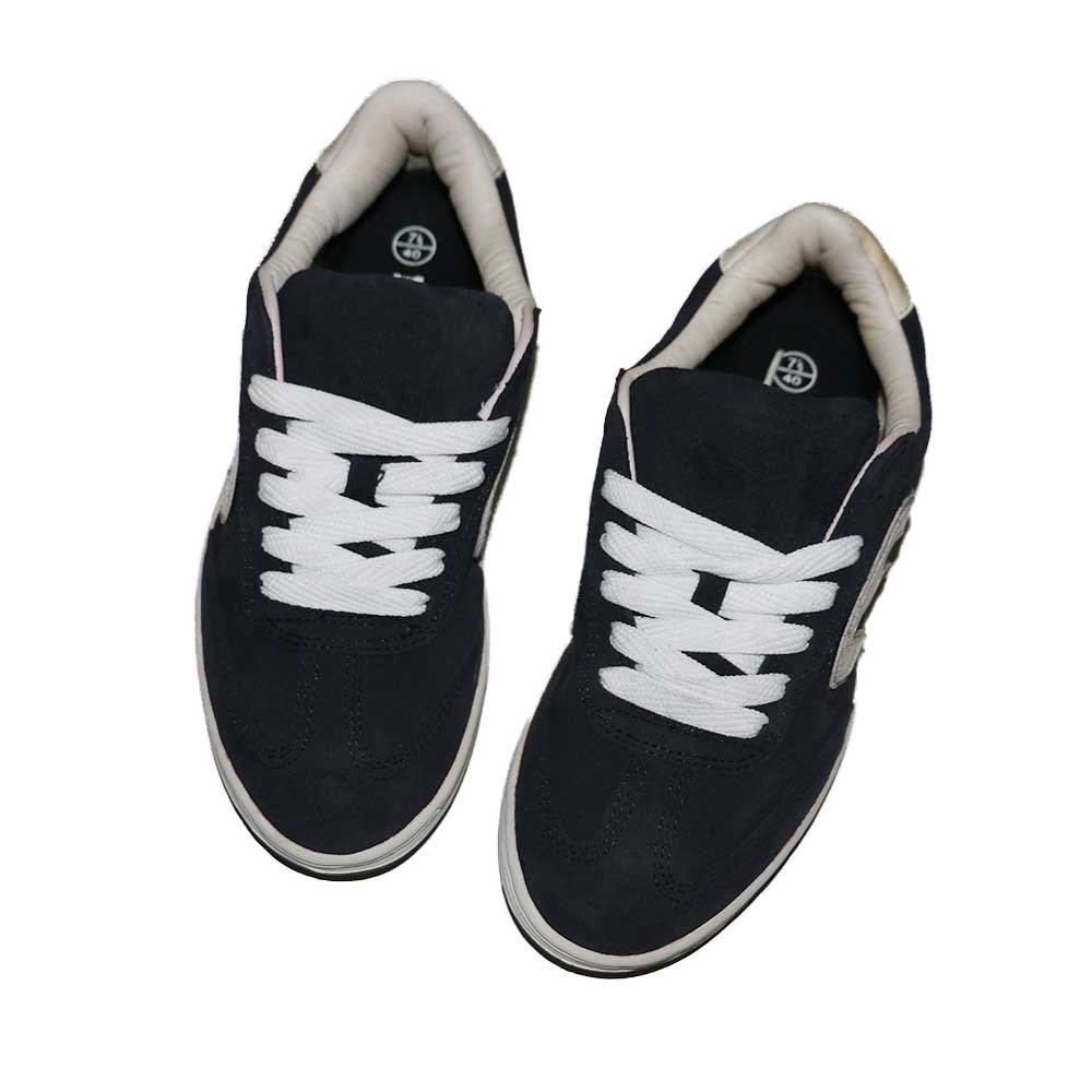 w-means(ダブルミーンズ) ETNIES SKATE SHOES (Dead Stock)表記7ハーフ NAVY   詳細画像3
