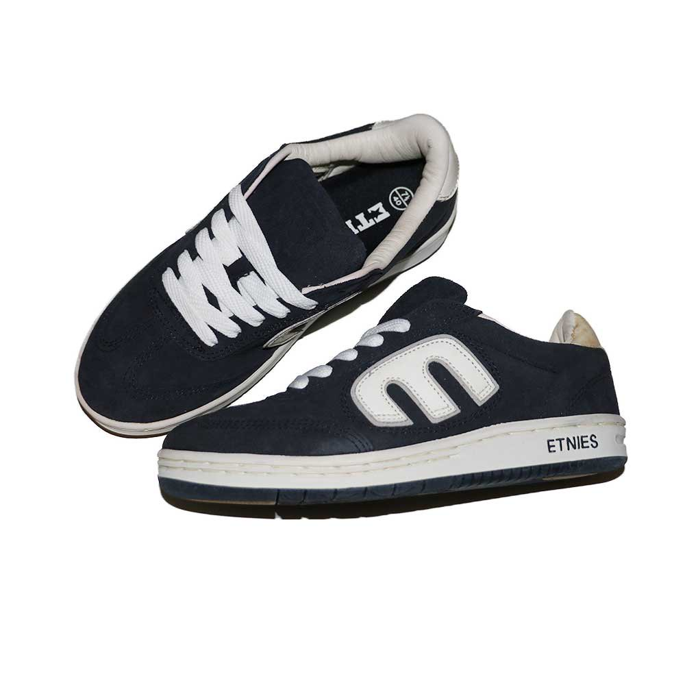 w-means(ダブルミーンズ) ETNIES SKATE SHOES (Dead Stock)表記7ハーフ NAVY   詳細画像4