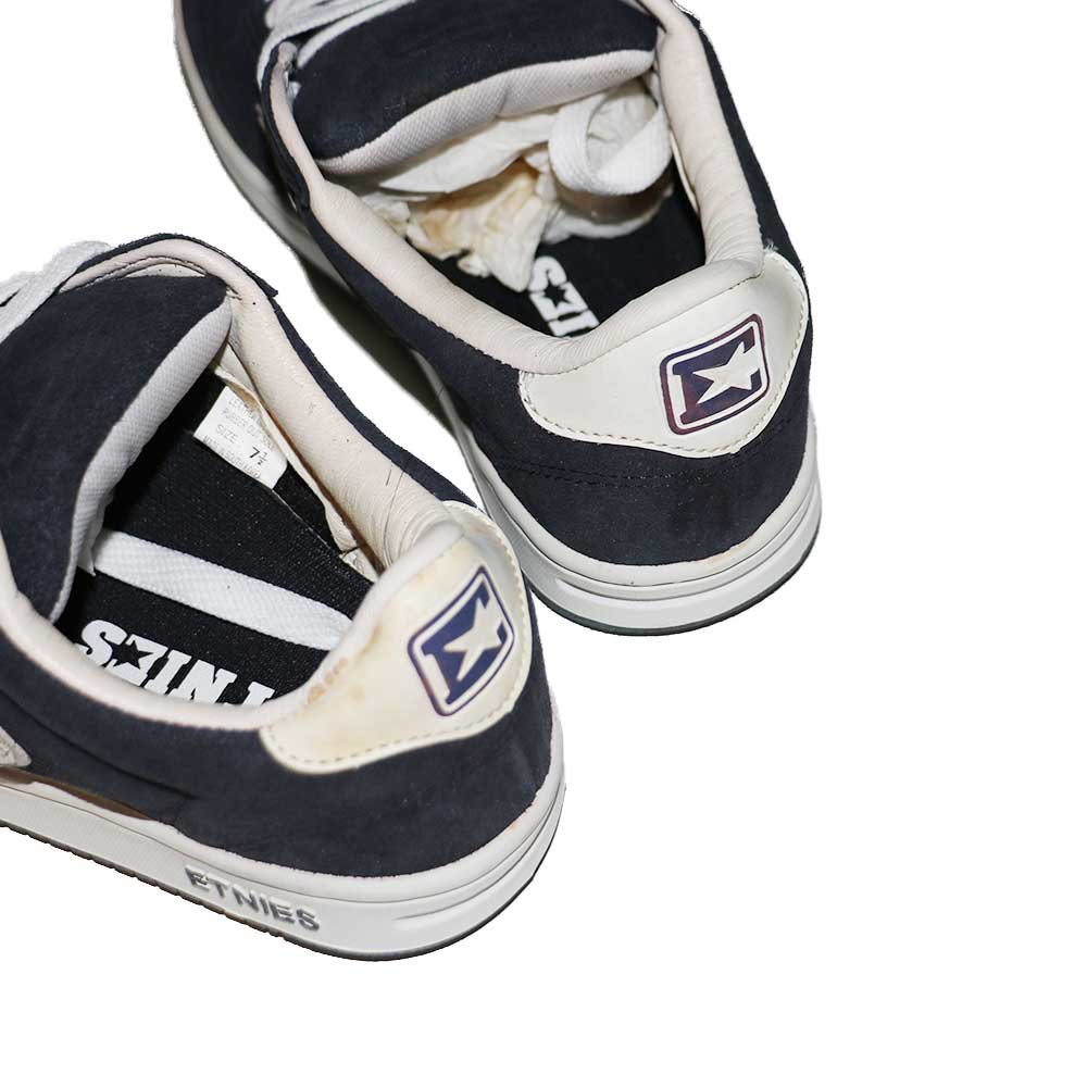 w-means(ダブルミーンズ) ETNIES SKATE SHOES (Dead Stock)表記7ハーフ NAVY   詳細画像7