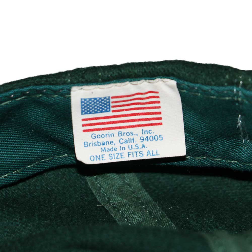 w-means(ダブルミーンズ) Goring Bros inc ウールキャップ(Made in U.S.A.)ONE SIZE FITS ALL Forestgreen 詳細画像3