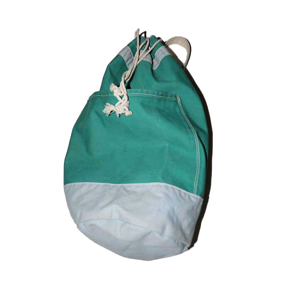 w-means(ダブルミーンズ) CANVAS BAG MACHINE コットンバッグ  one size  mint green 詳細画像1