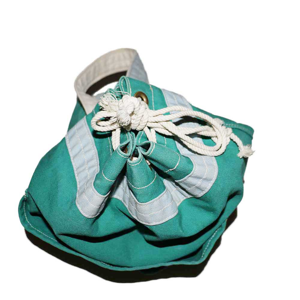 w-means(ダブルミーンズ) CANVAS BAG MACHINE コットンバッグ  one size  mint green 詳細画像3