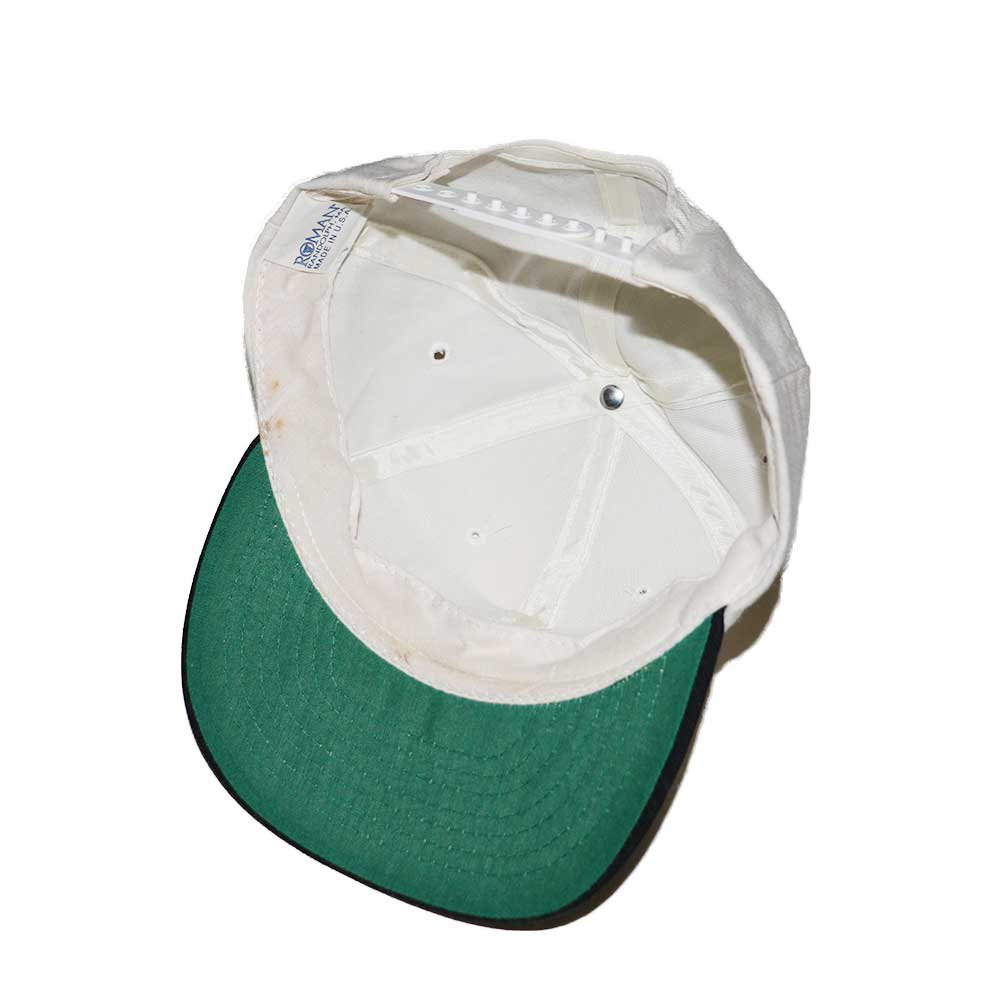 w-means(ダブルミーンズ) FORTYACRES AND A MULE FILMWORKS  B.B C CAP(Made in U.S.A.)one size  白×くろ 詳細画像2