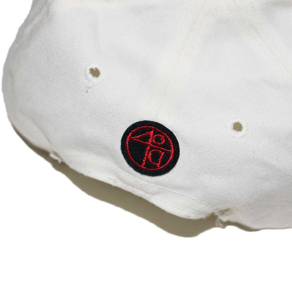 w-means(ダブルミーンズ) FORTYACRES AND A MULE FILMWORKS  B.B C CAP(Made in U.S.A.)one size  白×くろ 詳細画像4