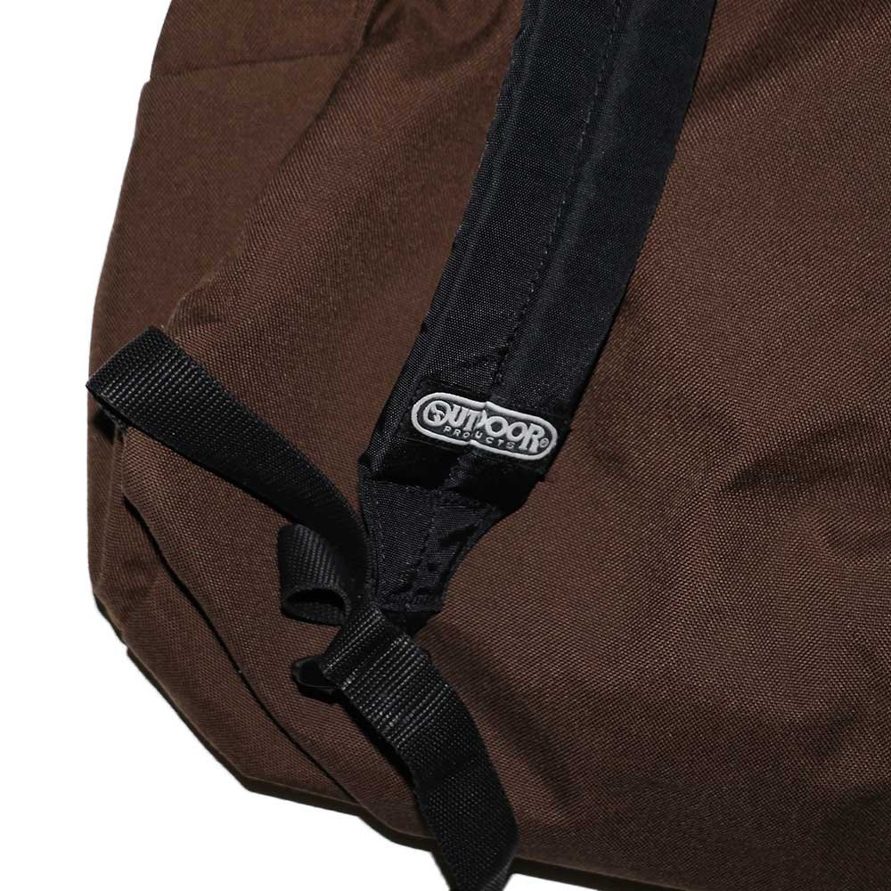 w-means(ダブルミーンズ) OUTDOOR  CORDURA ナイロンバッグパック  one size  茶色 詳細画像4