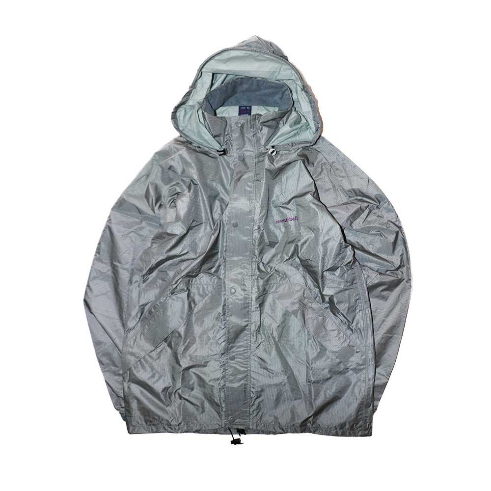 w-means(ダブルミーンズ) 90's mont-bell  GORE-TEX ナイロンジャケット(Made in JAPAN)表記JAPAN-xL  Silver 詳細画像1