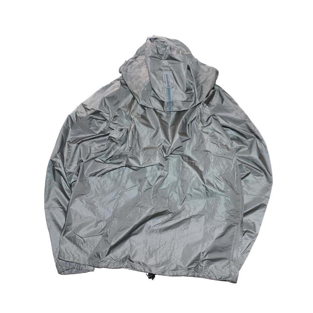 w-means(ダブルミーンズ) 90's mont-bell  GORE-TEX ナイロンジャケット(Made in JAPAN)表記JAPAN-xL  Silver 詳細画像2