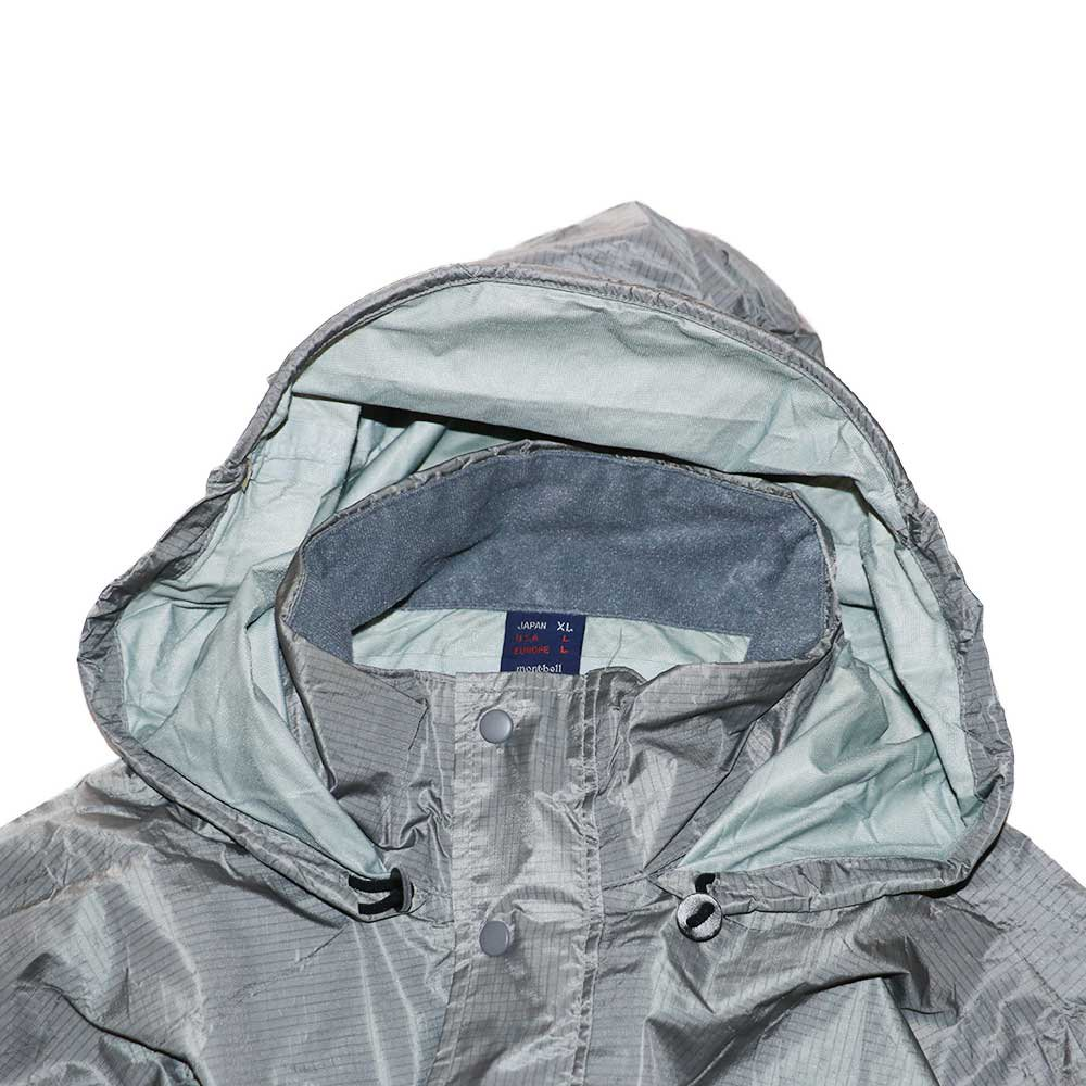 w-means(ダブルミーンズ) 90's mont-bell  GORE-TEX ナイロンジャケット(Made in JAPAN)表記JAPAN-xL  Silver 詳細画像4