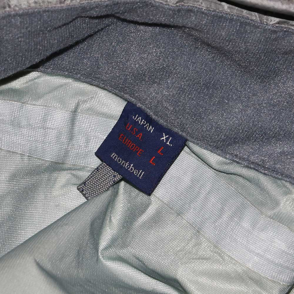 w-means(ダブルミーンズ) 90's mont-bell  GORE-TEX ナイロンジャケット(Made in JAPAN)表記JAPAN-xL  Silver 詳細画像6