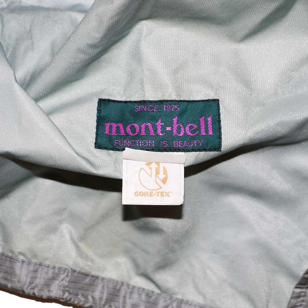 w-means(ダブルミーンズ) 90's mont-bell  GORE-TEX ナイロンジャケット(Made in JAPAN)表記JAPAN-xL  Silver 詳細画像9