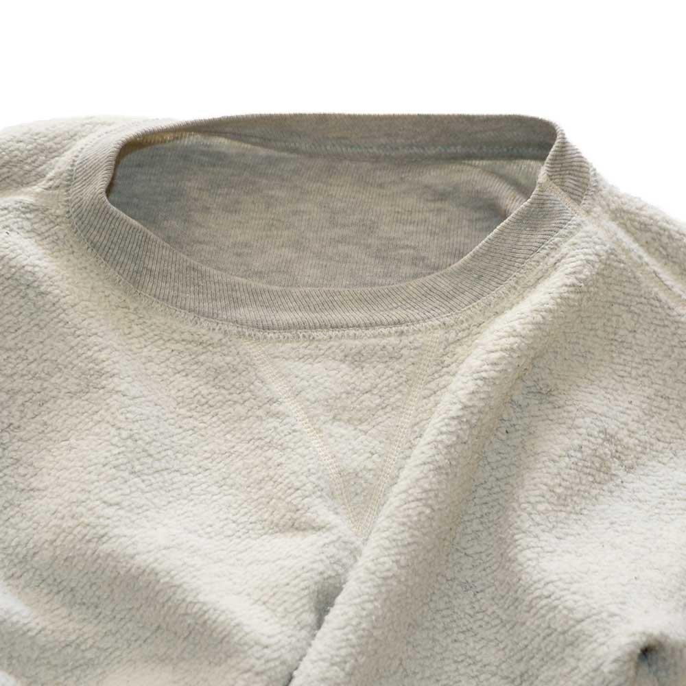 w-means(ダブルミーンズ) 60's unknown cotton クルーネックスウェット  表記なし  Ashgrey 詳細画像5