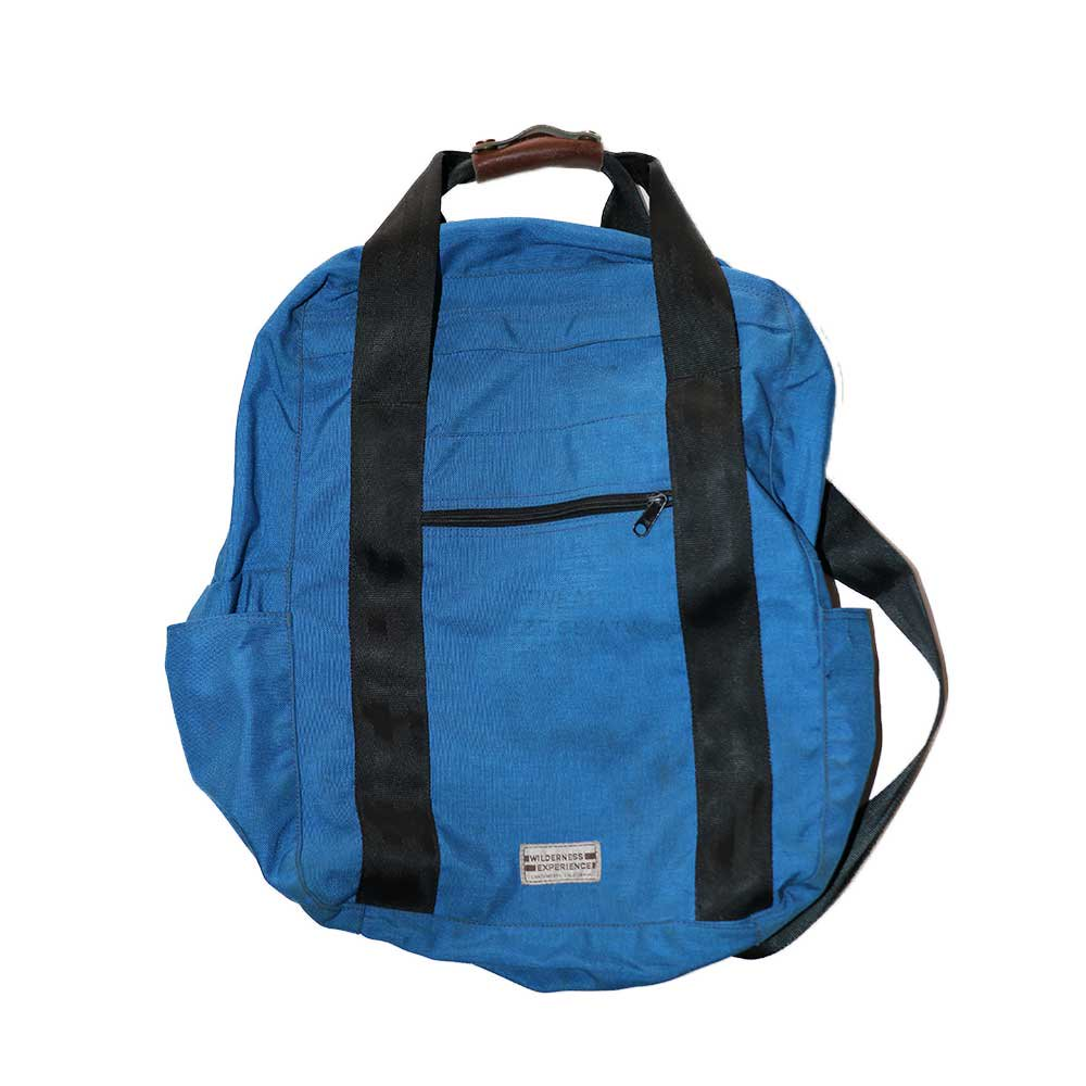 w-means(ダブルミーンズ) WILDERNESS EXPERIENCE ナイロンバックパック   45.3×36×17  Blue 詳細画像