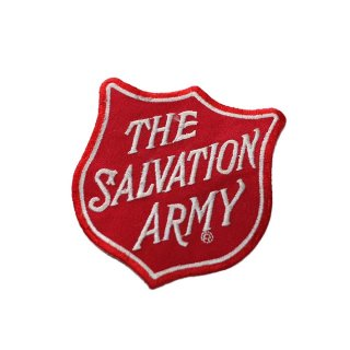 THE SALVATION ARMY ワッペン  one size Red
