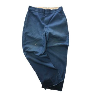 Dickies ワークパンツ (MADE IN U.S.A.)表記34  NAVY