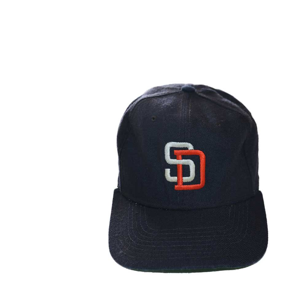w-means(ダブルミーンズ) San Diego Padres ベースボールキャップ  one size fits all  紺黒 詳細画像2