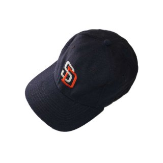 San Diego Padres ベースボールキャップ  one size fits all  紺黒