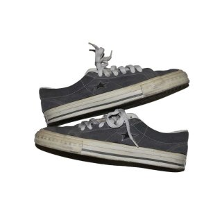 CONVERSE ONE STAR LOW(Made in U.S.A.)表記9ハーフ  灰色