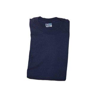 HANES BEEFY-T コットン半袖Tシャツ(Made in U.S.A.)表記xL  Navy