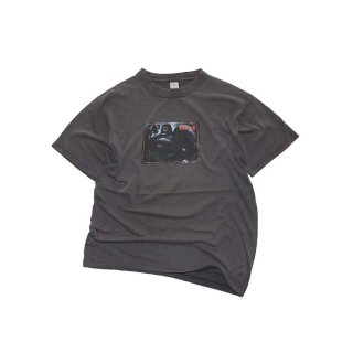 90's FUCT コットン半袖Tシャツ(Made in U.S.A.)表記M  charcoal