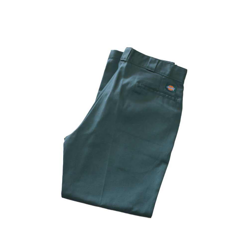 w-means(ダブルミーンズ) Dickies ポリエステルワークパンツ(MADE IN U.S.A.)表記36×30  SmokeGreen 詳細画像