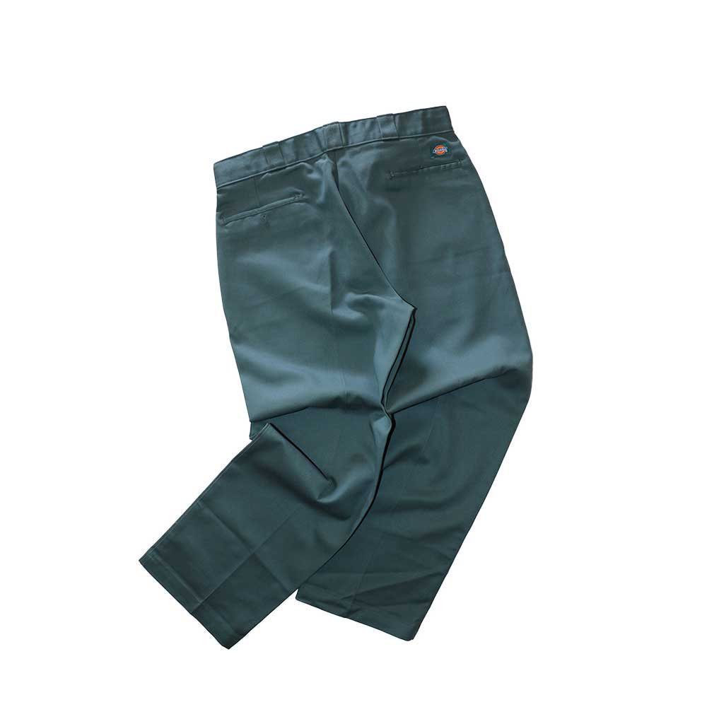 w-means(ダブルミーンズ) Dickies ポリエステルワークパンツ(MADE IN U.S.A.)表記36×30  SmokeGreen 詳細画像3