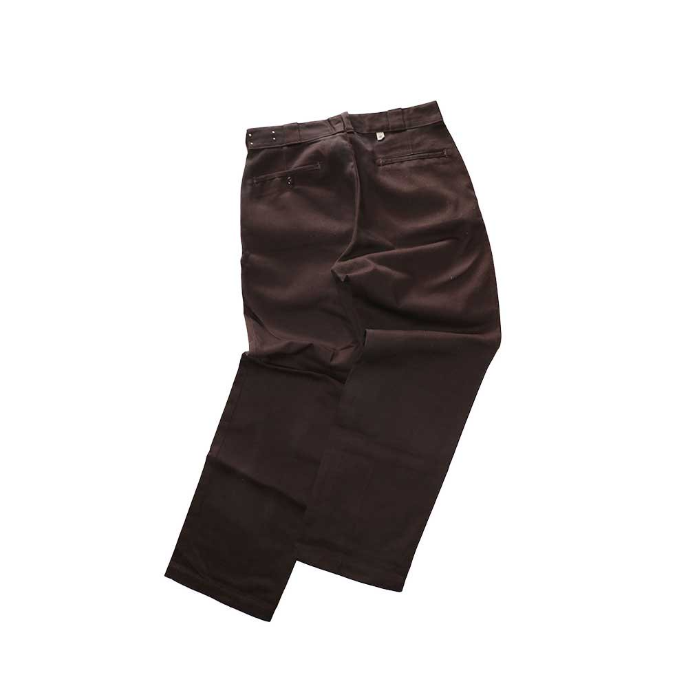 w-means(ダブルミーンズ) Dickies ワークパンツ(MADE IN U.S.A.)表記34   D.Brown 詳細画像2