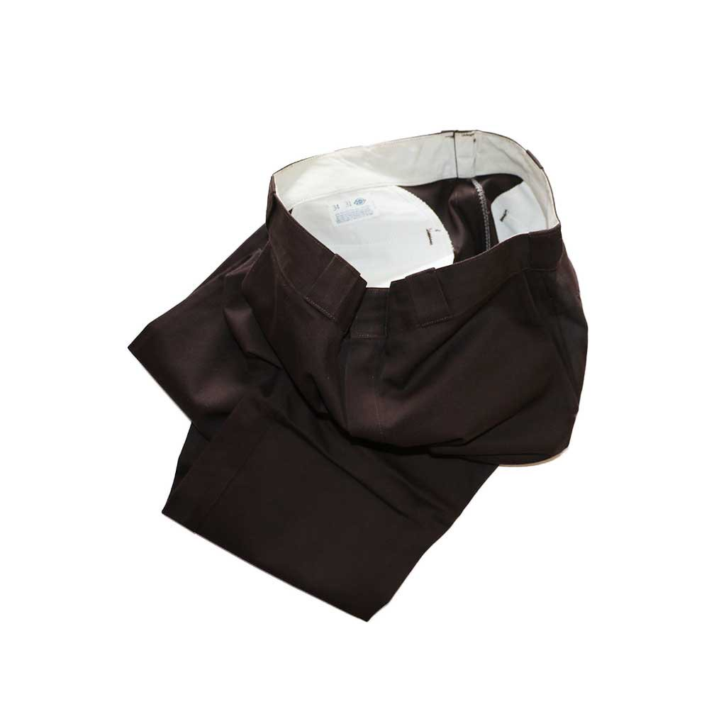 w-means(ダブルミーンズ) Dickies ワークパンツ(MADE IN U.S.A.)表記34   D.Brown 詳細画像3