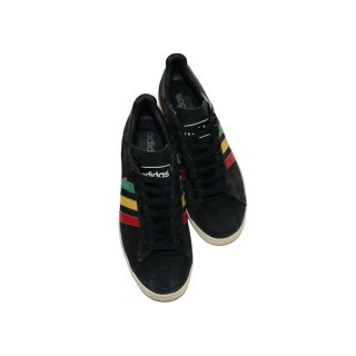 adidas Campus HEMP 表記 US10ハーフ  Black×Rasta