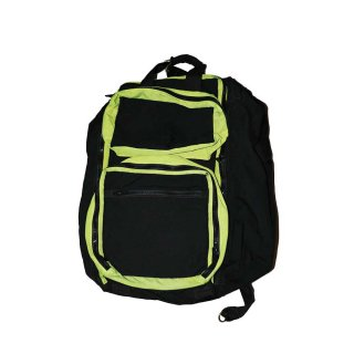DURA BAGS  ナイロン製 (MADE IN THE U.S.A.)one size  Black×Yellow