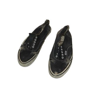 80's VANS Authentic(Made in U.S.A.) Black