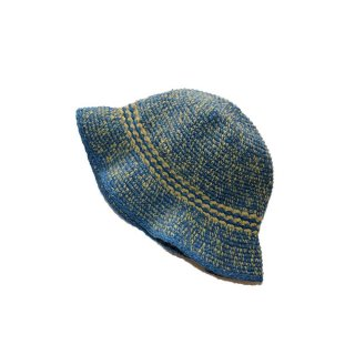 unknown ニットハット  one size fits all  Blue×Yellow