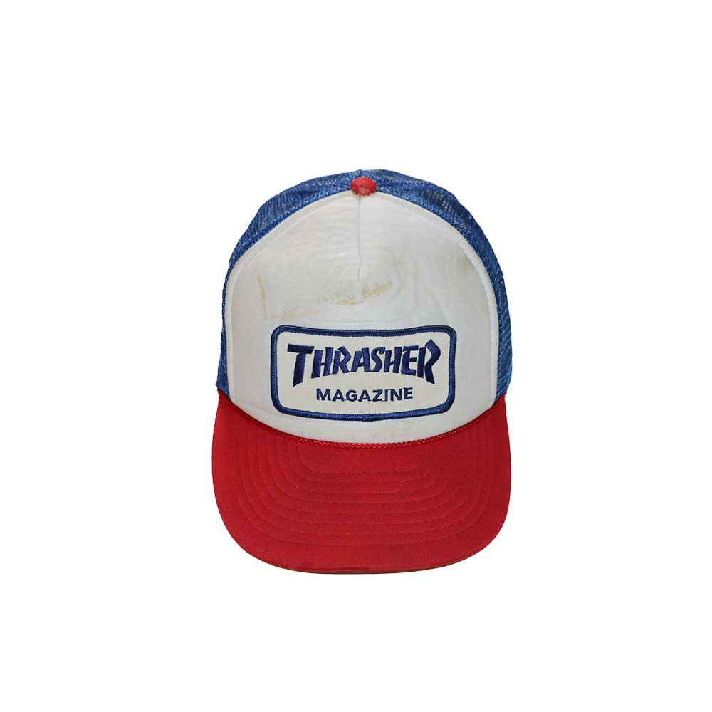 w-means(ダブルミーンズ) THRASHER メッシュキャップ  one size fits all  トリコロール 詳細画像2
