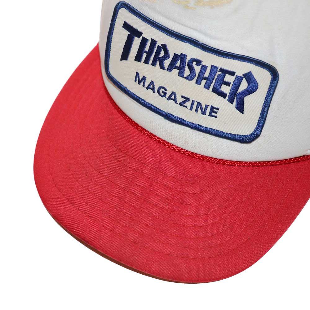 w-means(ダブルミーンズ) THRASHER メッシュキャップ  one size fits all  トリコロール 詳細画像4
