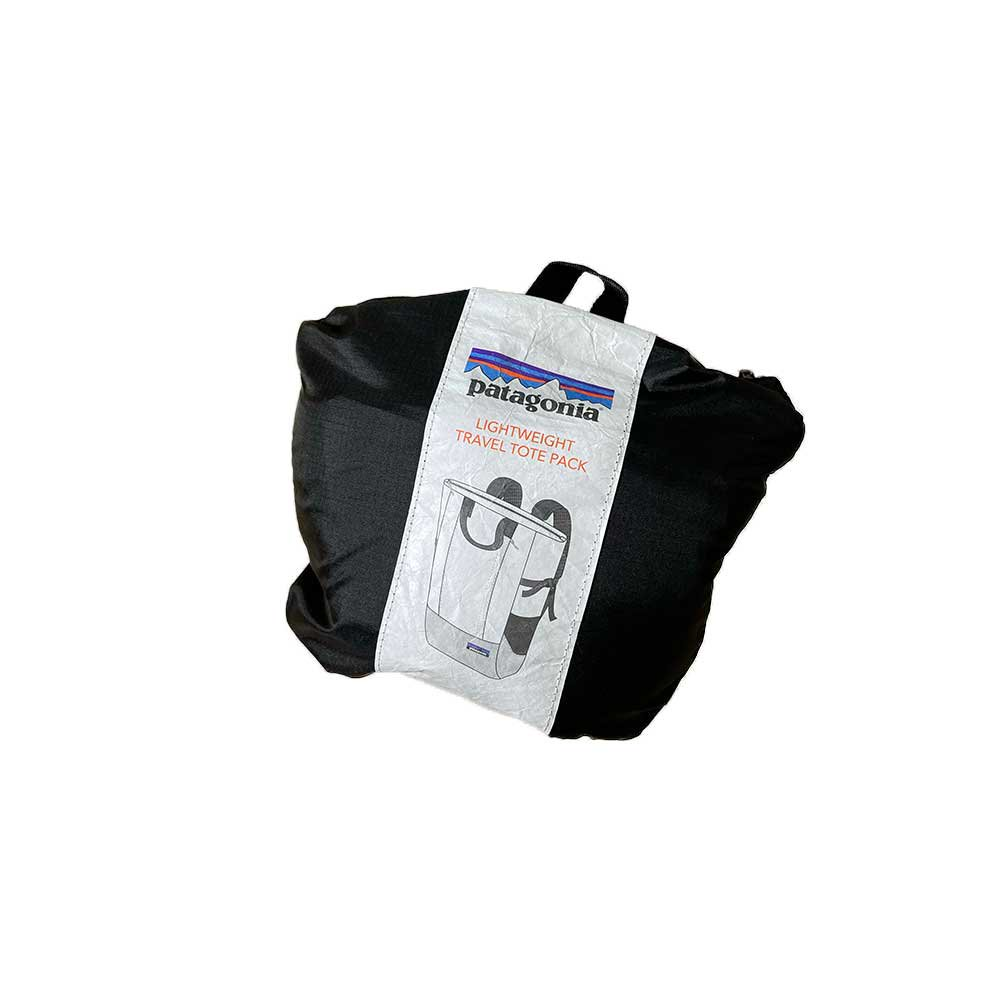 w-means(ダブルミーンズ) LIGHTWEIGHT TRAVEL TOTE PACK  2wayナイロンバックパック  容量22L  Black 詳細画像