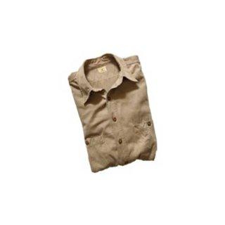 ARMY TWILL  長袖ワークシャツ   表記なし  KHAKI
