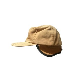 unknown コットンワークキャップ (Made in U.S.A.)表記LARGE   Camel