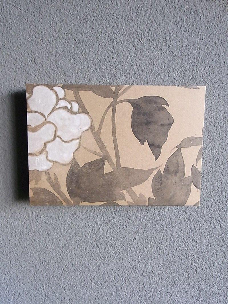 Masaオリジナル時代屏風パネル ® 18 117 8 琳派野花図