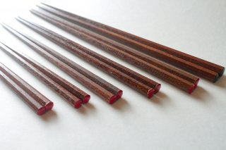 安全ですべりにくい子供用八角サイズ箸(8才〜小学校高学年)