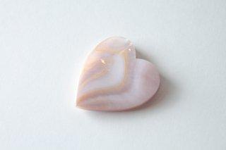 ハート箸置き ピンク貝