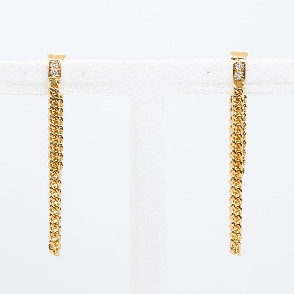 Import Jewelry<br>K18YG ダイヤモンド<br>