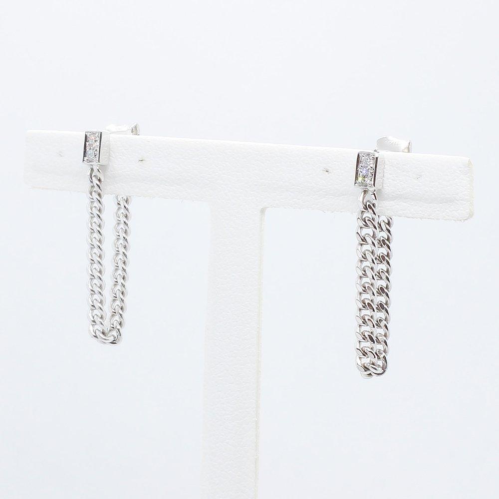 Import Jewelry<br>K18WG ダイヤモンド<br>