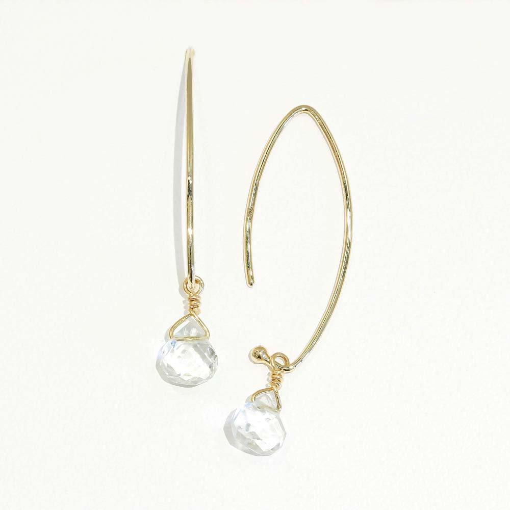 Jewelry marlon<br>K18YG アクアマリン<br>