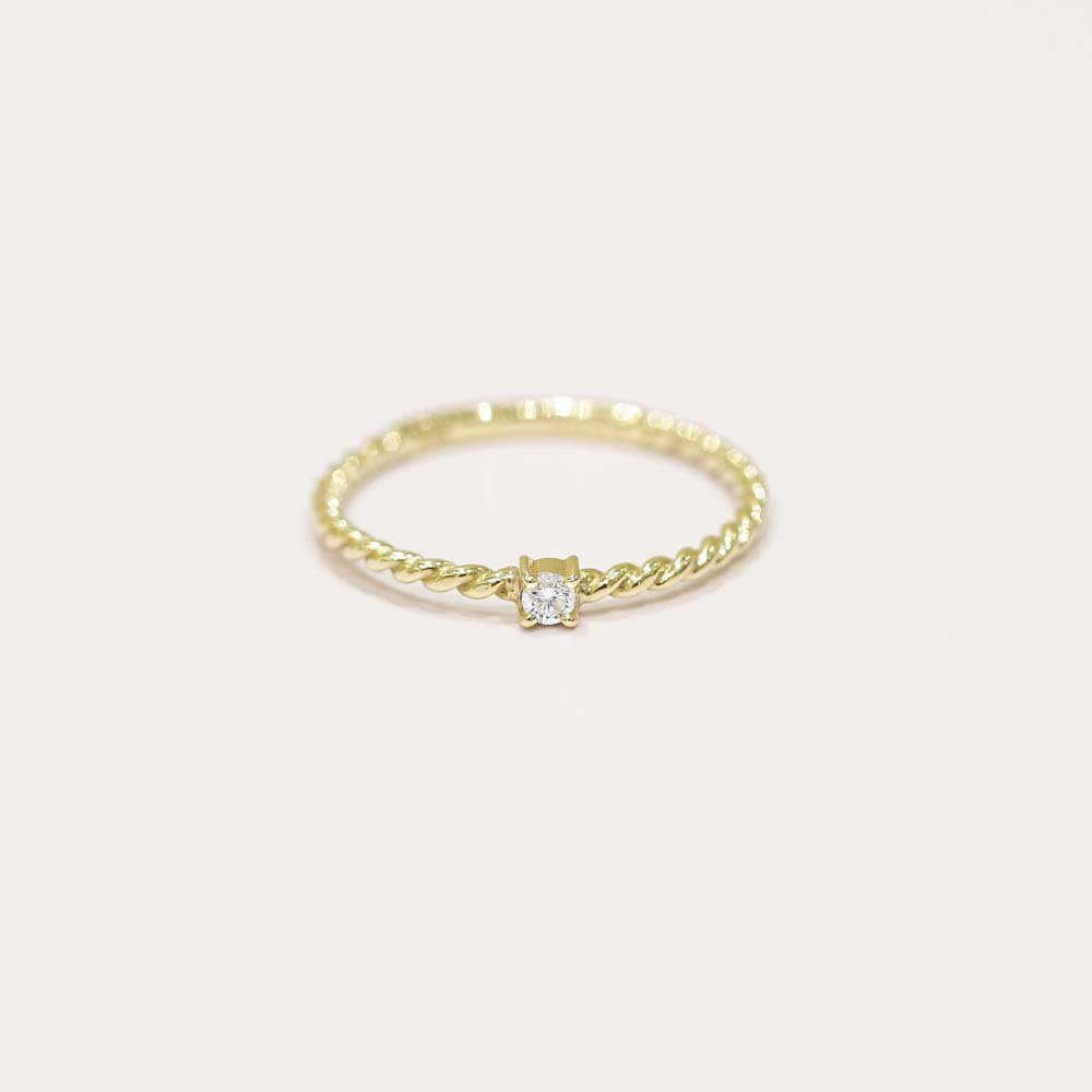 jewelry marlon<br>K18YG ダイヤモンド<br>