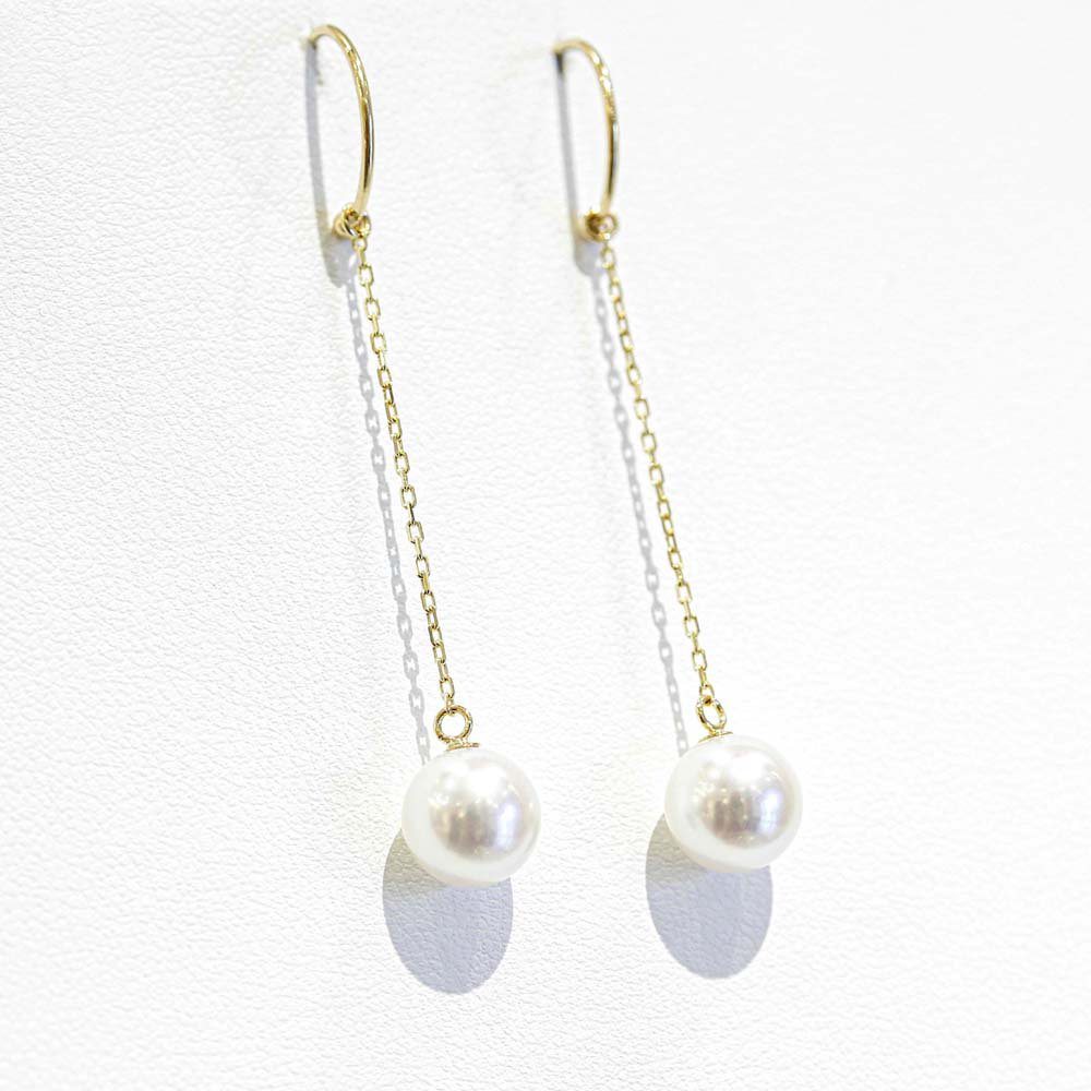 jewelry marlon<br>K18YG アコヤパール<br>