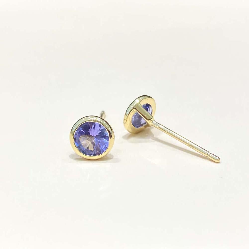 Jewelry marlon<br>K18YG タンザナイト<br>
