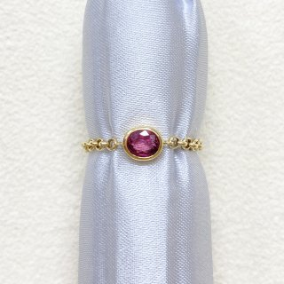 jewelry marlon<br>K18YG ルビー<br>