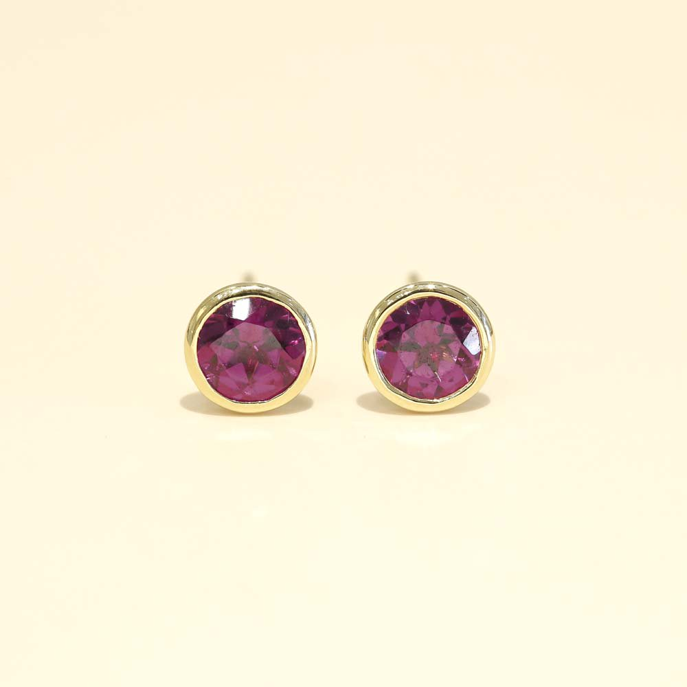 Jewelry marlon<br>K18YG ガーネット<br>